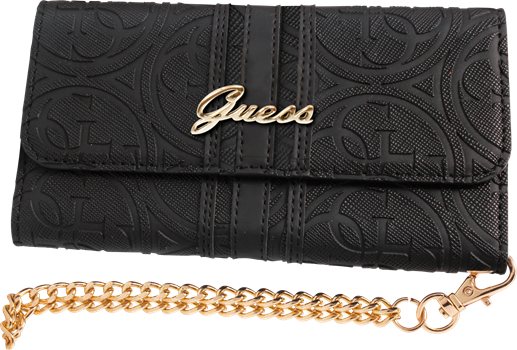 Guess Heritage Clutch Case iPhone 6/6S Black
