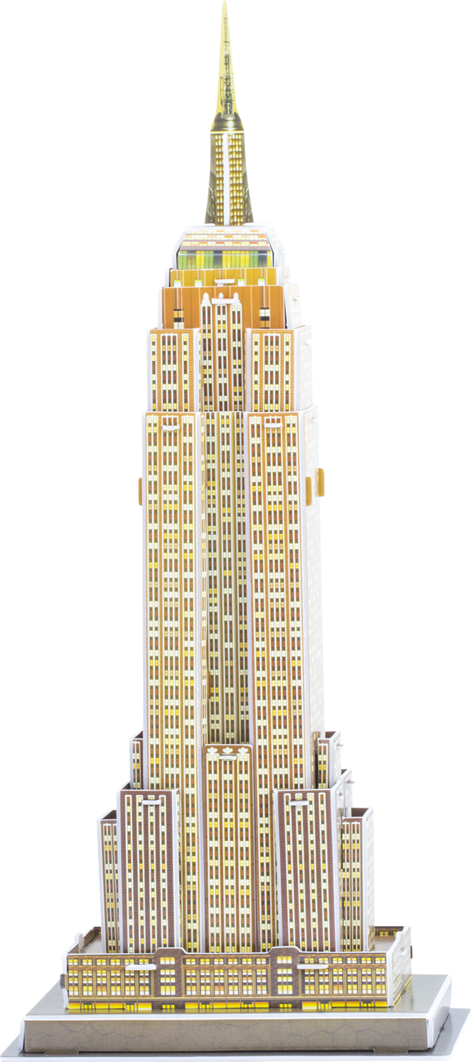 Pappersmodell Empire State Building thumbnail