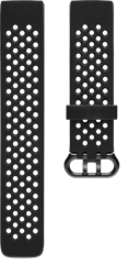 Fitbit Charge 3 Sportarmband Black L