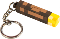 Minecraft Light-Up Keychain