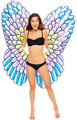 Pool Float Giant Angel Wings