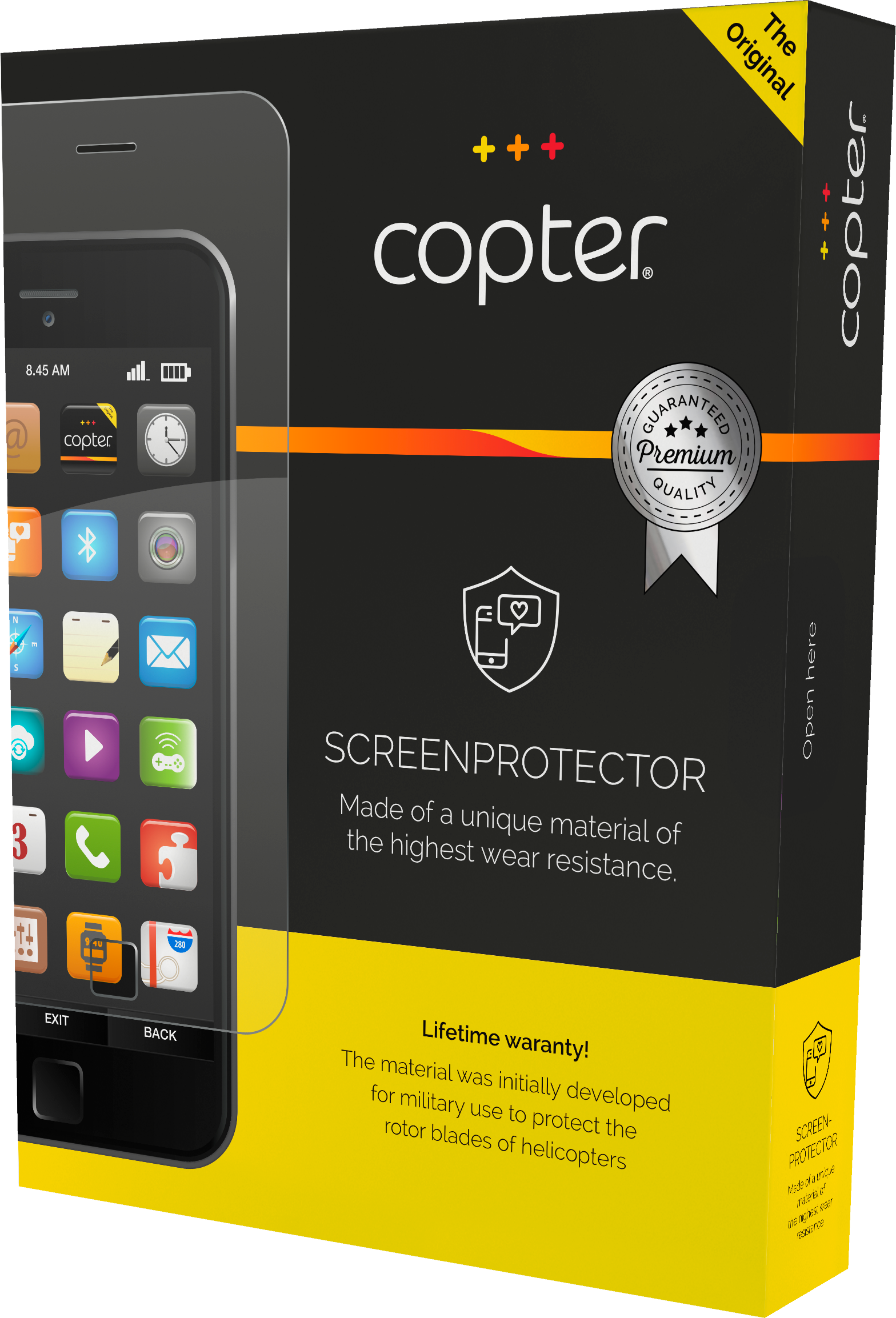 Läs mer om Copter Screenprotector Nokia 6