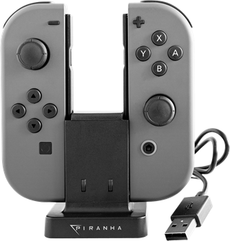 Piranha Nintendo Switch Dual Charger