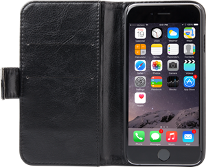 iZound Wallet Case iPhone 6/6S Plus Black