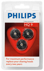 Philips Skär HQ 9 3-pack