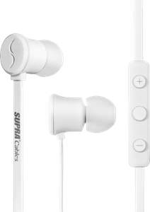 Supra Headphones NERO White