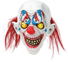 Maskeradmask Smiling Clown