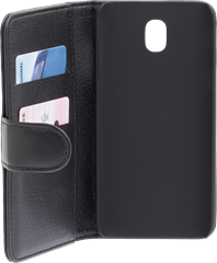 iZound Leather Wallet Case Samsung Galaxy J5 (2017) Black
