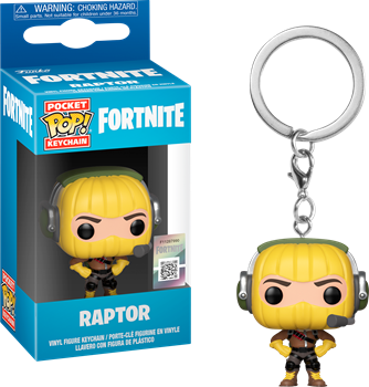 Funko POP Keychain Fortnite - Raptor