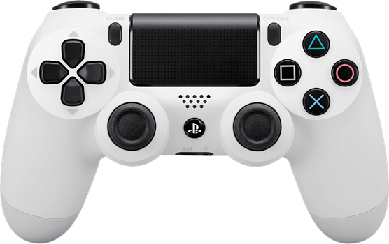Sony Dual Shock 4 Controller V2 White (PS4) (Original)