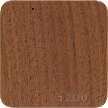 Wood Power Bank 5200mAh