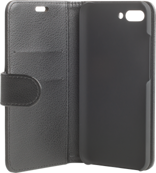 iZound Leather Wallet Case Huawei Honor 10 Black