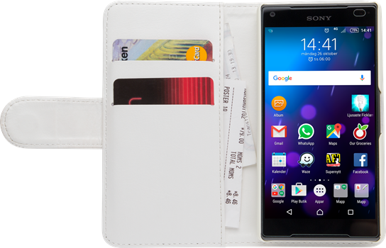 iZound Wallet Case Sony Xperia Z5 Compact White
