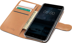 Celly Wallet Case Nokia 6