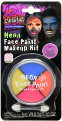 Neon Face Paint Kit