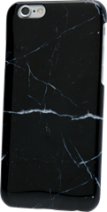 Holdit Marble Case iPhone 6/6S Black