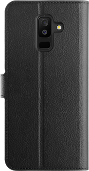 Xqisit Slim Wallet Selection Samsung Galaxy A6 Plus (2018) Black