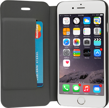 iZound Slim Wallet iPhone 6/6S Black