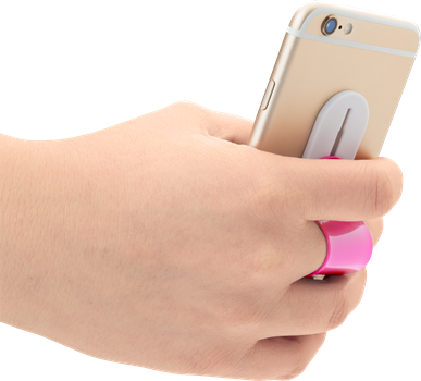 iZound Phone Finger Holder Pink