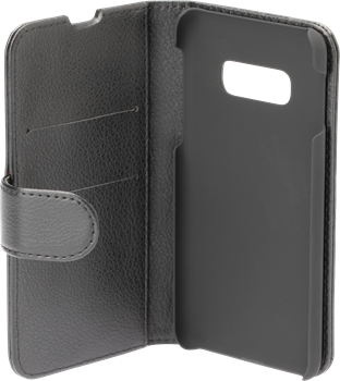 iZound Leather Wallet Case Samsung Galaxy S10e Black