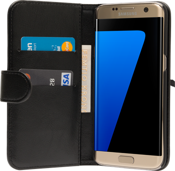 iZound Wallet Case Samsung Galaxy S7 Edge Black