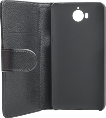 iZound Leather Wallet Case Huawei Y6 (2017) Black