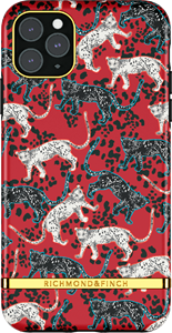 Richmond & Finch Samba Red Leopard iPhone XR/11