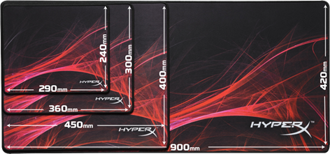 HyperX FURY S Speed Pro Gaming Mouse Pad S