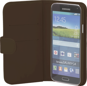 iZound Wallet Case Samsung Galaxy S5 Dark Brown