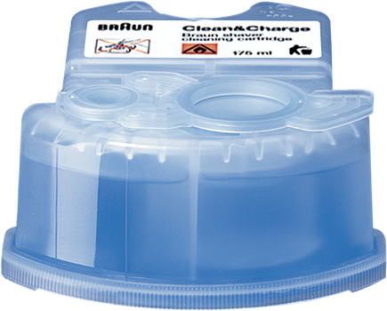 Braun Clean&Charge Refill 4-pack