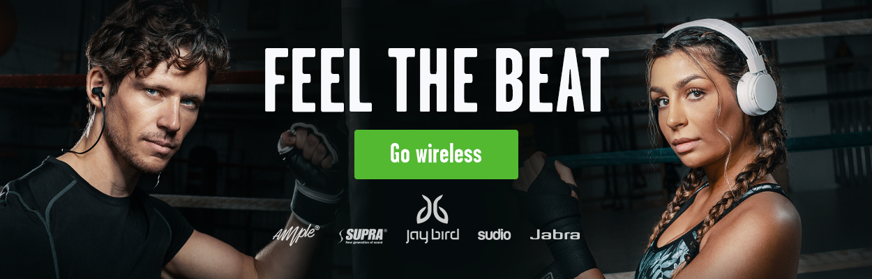 Feel the beat & go wireless med trådlösa bluetooth hörlurar från Sudio, Supra, Jabra mfl.