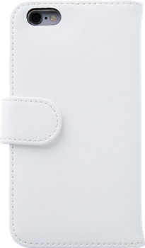 iZound Leather Wallet Case iPhone 6 White