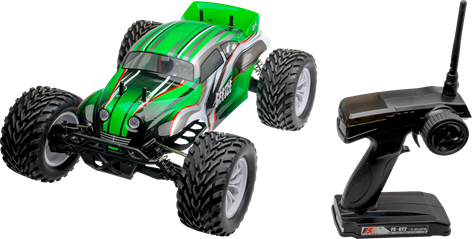Beetle 1:10 Brushless MonsterTruck 4WD 2,4GHz