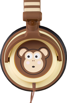 Kitsound Doodle Monkey Brown