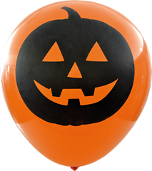 Halloweenballonger 2-pack