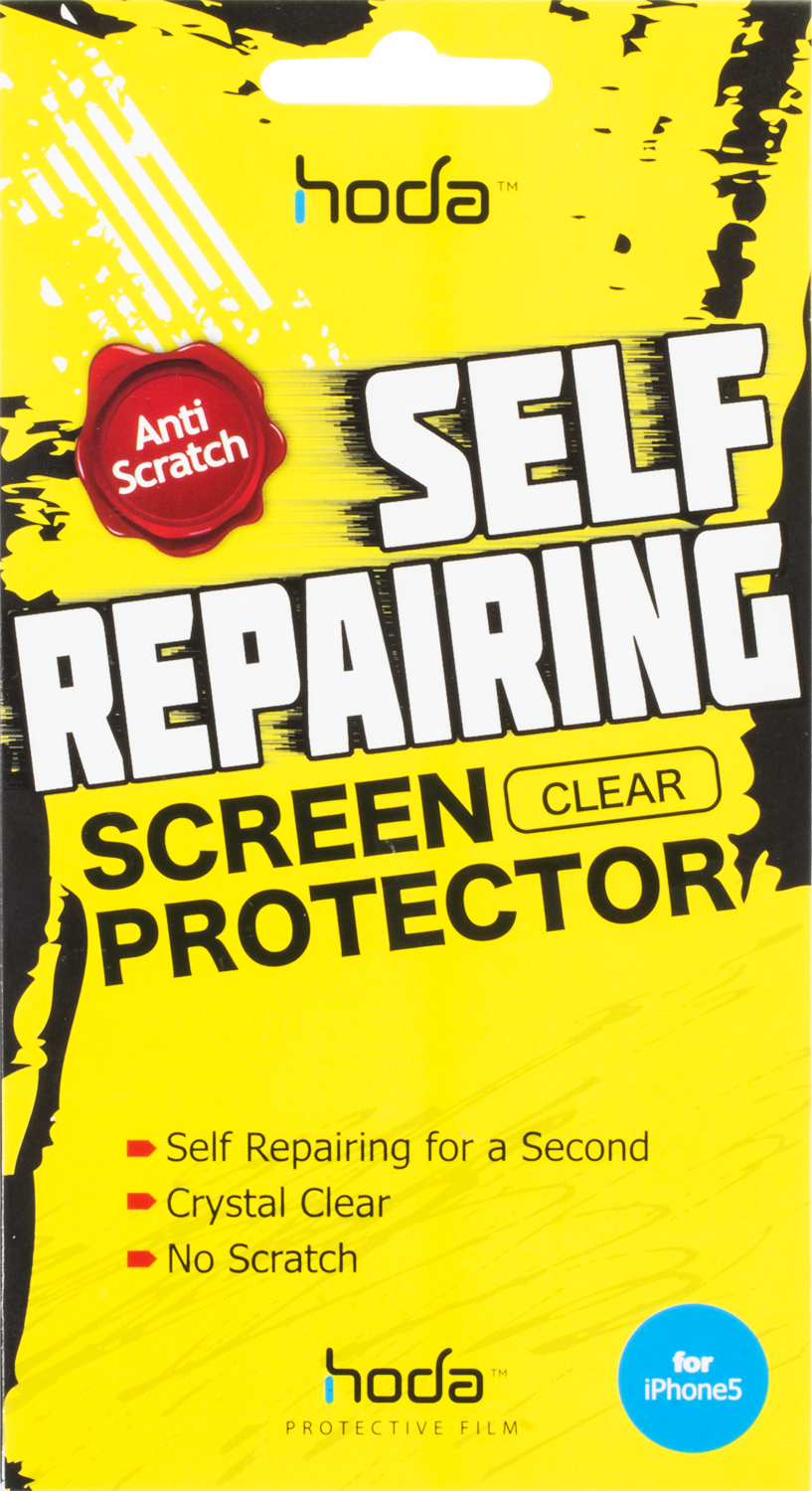 Läs mer om Hoda Self Repairing Screen Protector iPhone 5/5S/5C