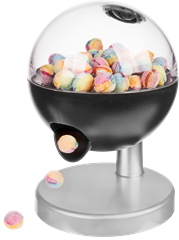 Candy Dispenser With Touch Sensor
