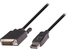 DisplayPort to DVI-D Cable 2m
