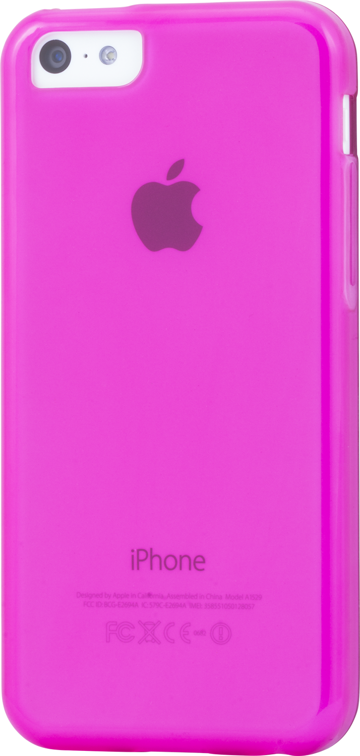 Läs mer om iZound TPU Case iPhone 5C Pink