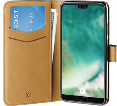 Xqisit Slim Wallet Selection Huawei P20 Black