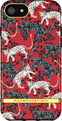 Richmond & Finch Samba Red Leopard iPhone 6/7/8/SE