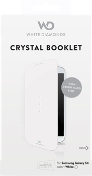 White Diamonds Crystal Booklet Samsung Galaxy S4 White