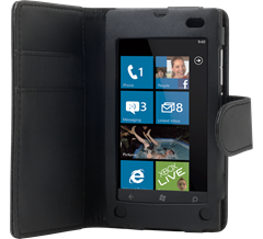 iZound Wallet Case Nokia Lumia 800 Black