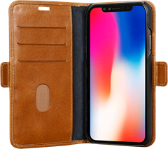 D.Bramante Copenhagen iPhone XR Golden Tan