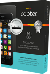 Copter Exoglass Curved Samsung Galaxy S7 Edge Transparent