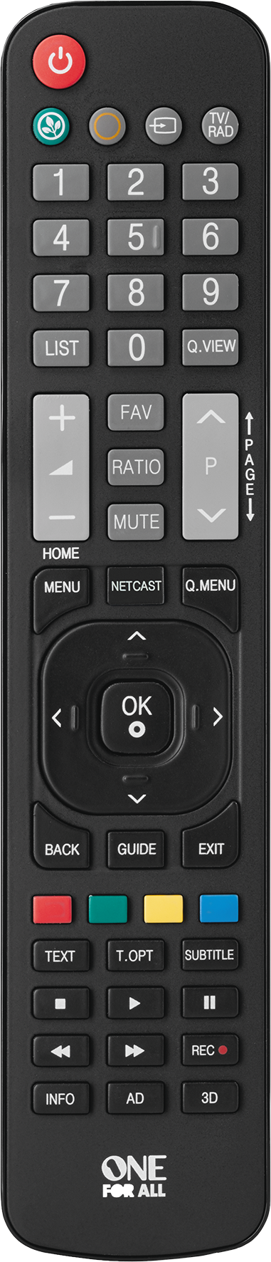 Läs mer om One For All URC 1911 Remote Control Replacement LG