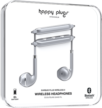Happy Plugs Earbud Plus Wireless II Space Grey