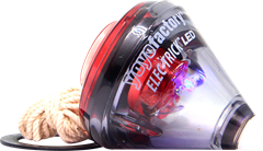 Spintop Elec-Trick LED Black/Red