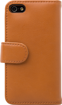 iZound Leather Wallet Case iPhone 5/5S Brown