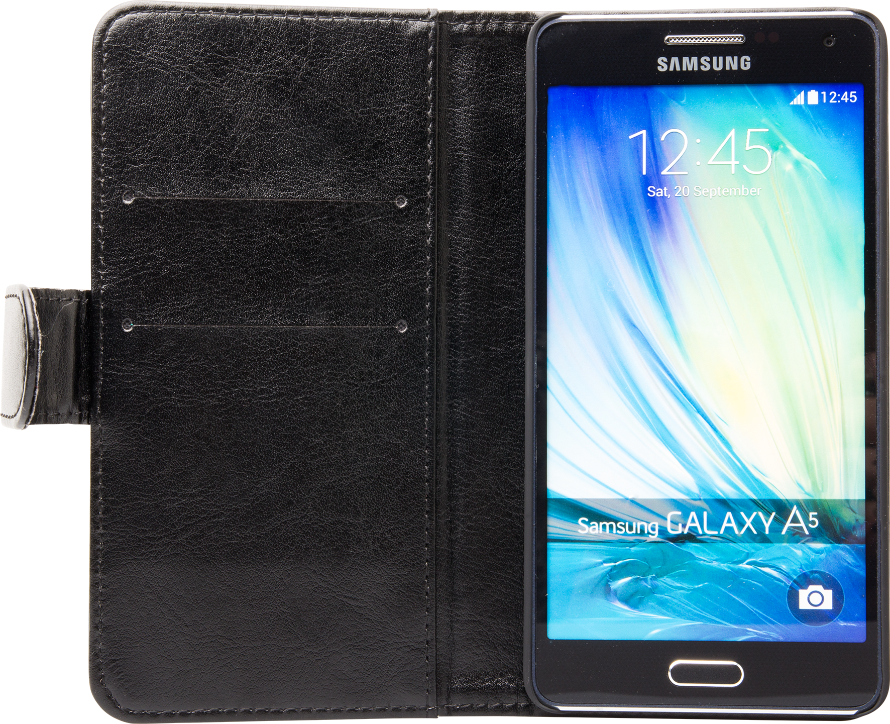 Läs mer om iZound Wallet Case Samsung Galaxy A5 Black